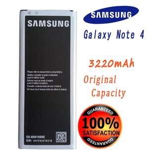 🚚 Samsung Galaxy Note 4 EB-BN910BBE SM-N910 Series 3220mAh