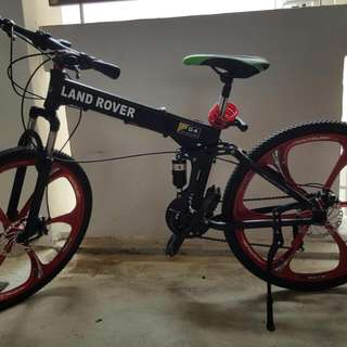 26 Inch Landrover MTB Suspension Folding Bicycle