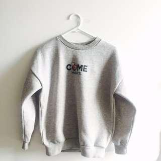 YOUNG MIN 2 NE Korean Sweater Dress