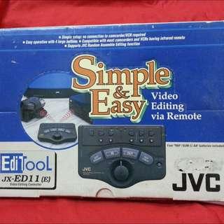 JVC Twin Remote Control Video Editor