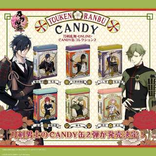 Touken Ranbu Online - CANDY Can Collection Part.2