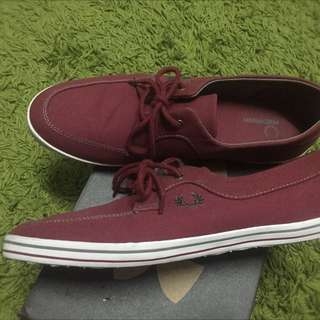 Authentic Fred Perry Shoes