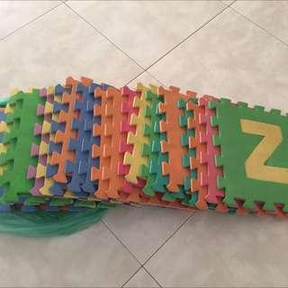 Floor Mat A-Z