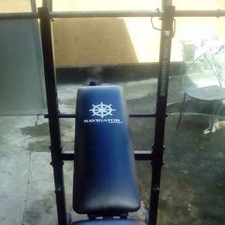 Bench Press Weights And All Accessories Included