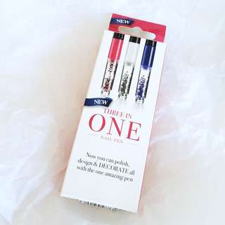 FREE POSTAGE 💌🔁BN Three In One Nail Pens 💅🏼