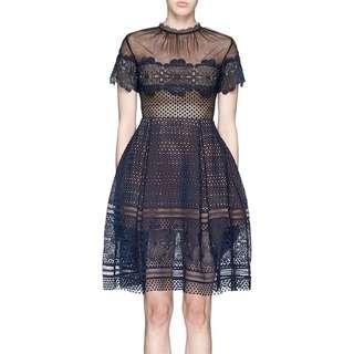 Authentic Self Portrait Lace Dress Size 6