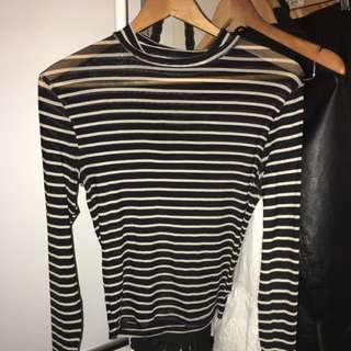 Evil Twin Mesh Top Size M