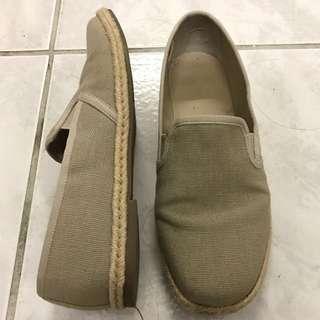 MUJI 無印良品 草編休閒鞋 正品