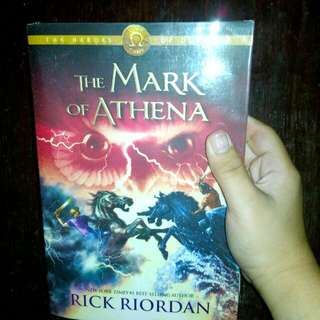 The Mark of Athena Trade Paperback by: Rick Riordan