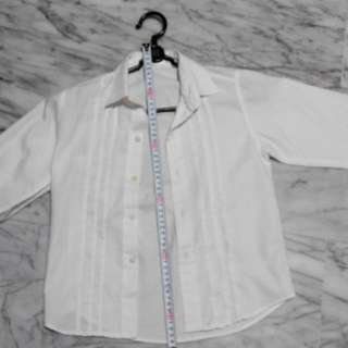 Cerisi White Shirt For 5-7 Year Old Boys