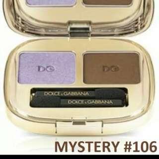 DOLCE & GABBANA EYESHADOW SMOOTH EYE COLOUR DUO, #106 MYSTERY.