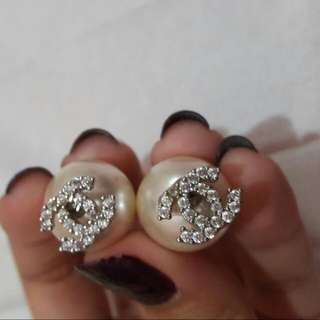 Anting Chanel Mutiara | Earrings