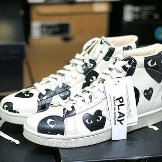 7ed3fd5ae93d03 Play CDG X Converse Pro Leather High Size 10
