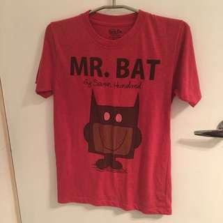 'Mr Bat' Batman Mr Men T-shirt