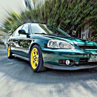 Honda Civic VTI 1999 Sir Body Original MANUAL