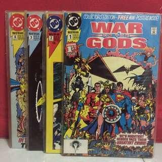 DC Comics : War Of The Gods [Collectors' Edition]