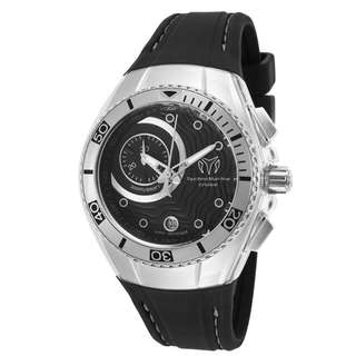 TechnoMarine Women's Cruise One Black Silicone and Dial