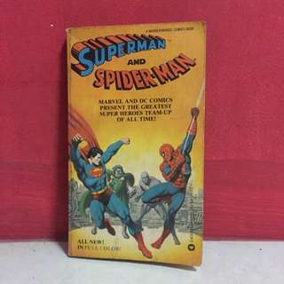 Superman And Spider-man Comic Book