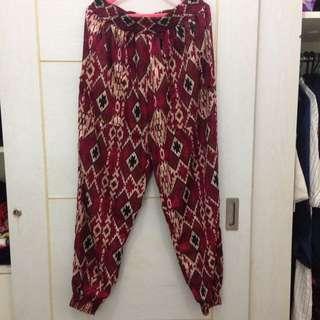Forever 21 Tribal bohemian pants