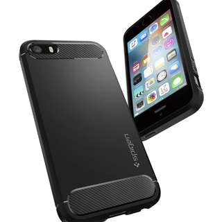 Spigen Iphone 5s Rugged Armor Case (used)