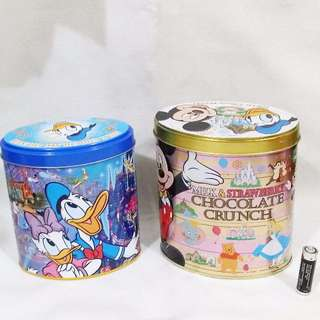 DISNEY TIN CANS