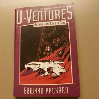 Return To The Cave Of Time U-Ventures By Edward Packard