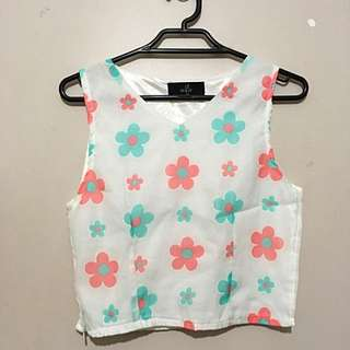 Summer Pastel Crop Top