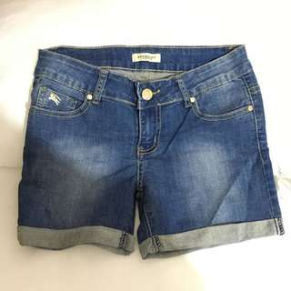 Burberry Denim Short Pants