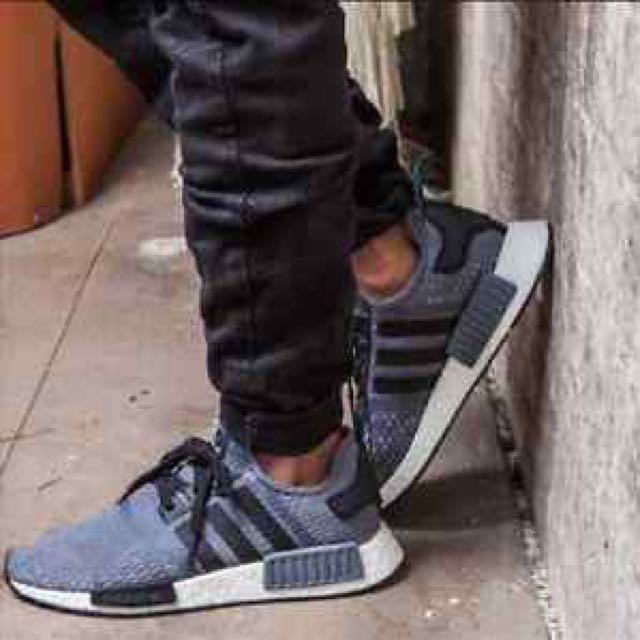 online retailer 49b2c be4f6 Adidas NMD R1 Foot Locker Exclusive, Men's Fashion, Footwear ...