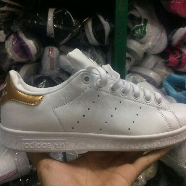 best sneakers be42e b87b6 Adidas Stan Smith White/gold