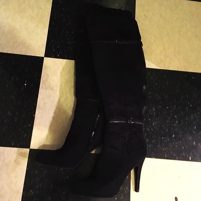 Aldo Size 8 High Boots-NEW PRICE