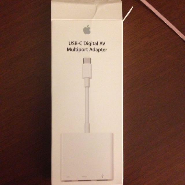 Apple原廠  USB-C轉接頭