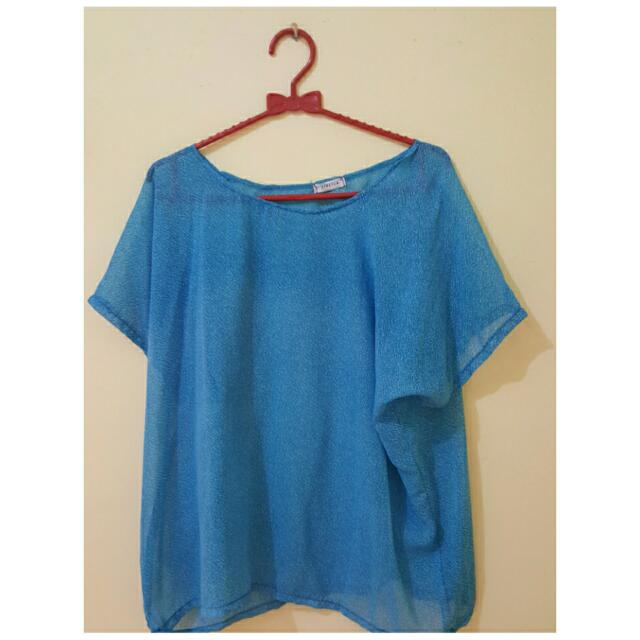 Baju Sifon (Biru Muda)