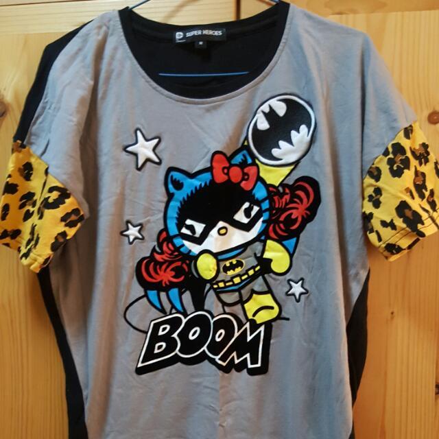 f9aead5d4 Batman Hello Kitty Super Heroes Size M, Women's Fashion, Clothes ...