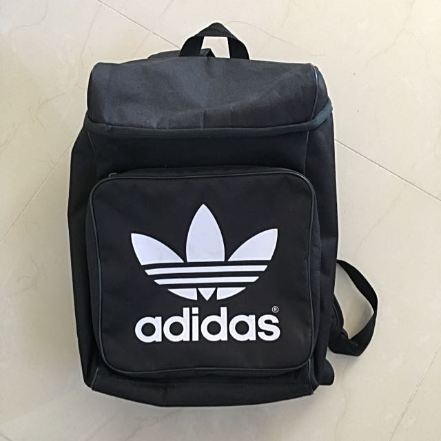 Black Classic Adidas Backpack