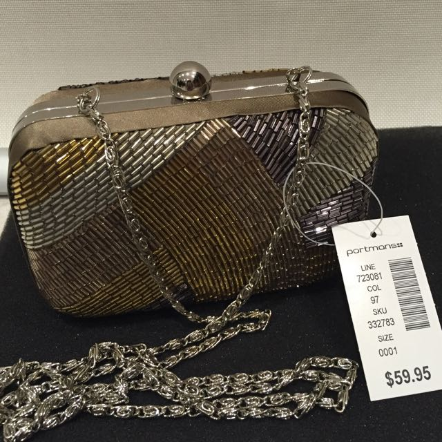 ⭐️⭐️⭐️Brand New Clutch/small sidebag from Portmans!