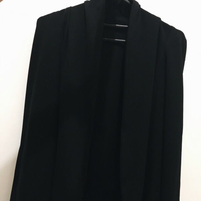 Cape Blazer In Black