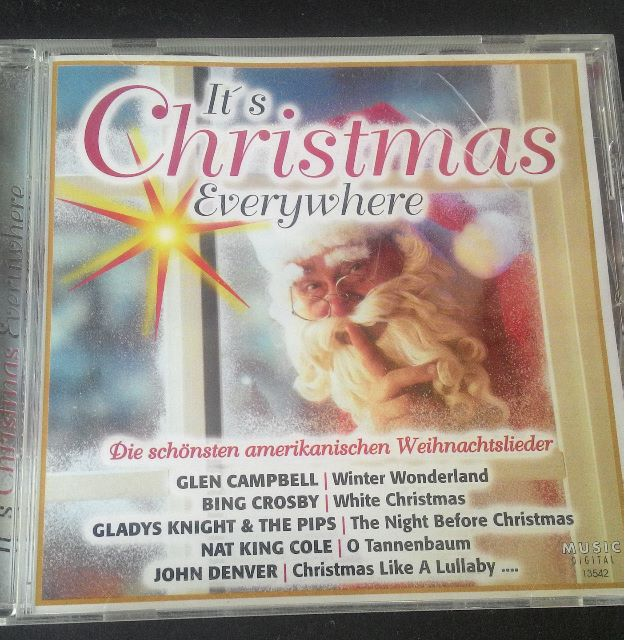 Nat King Cole Weihnachtslieder.Cd It S Christmas Everywhere