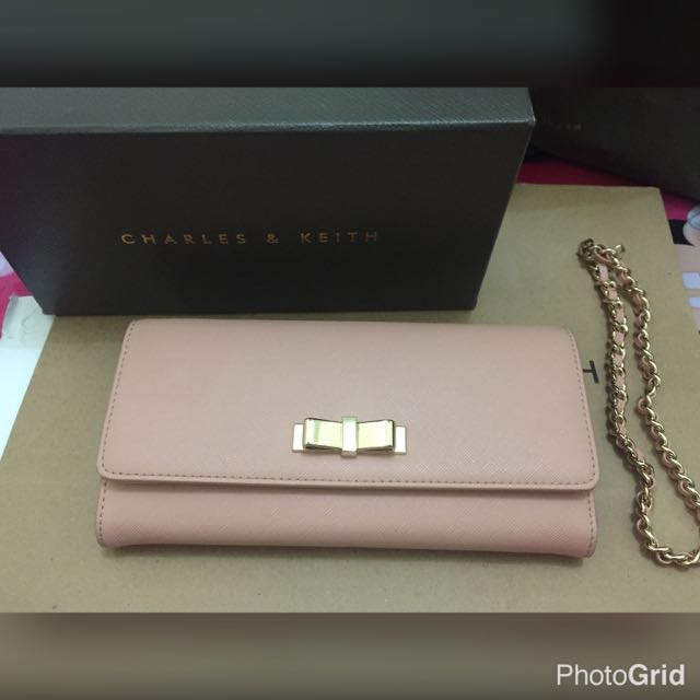 Charles & Keith Bow Wallet
