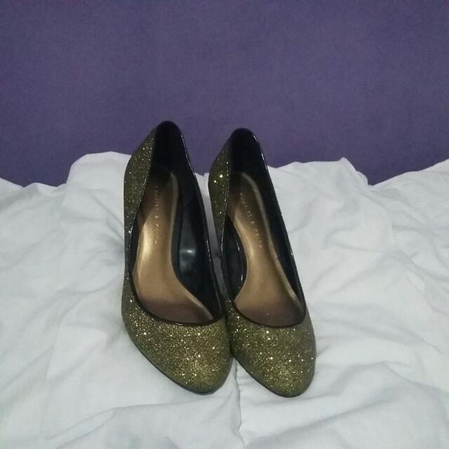 Charles Keith Glittery Heels