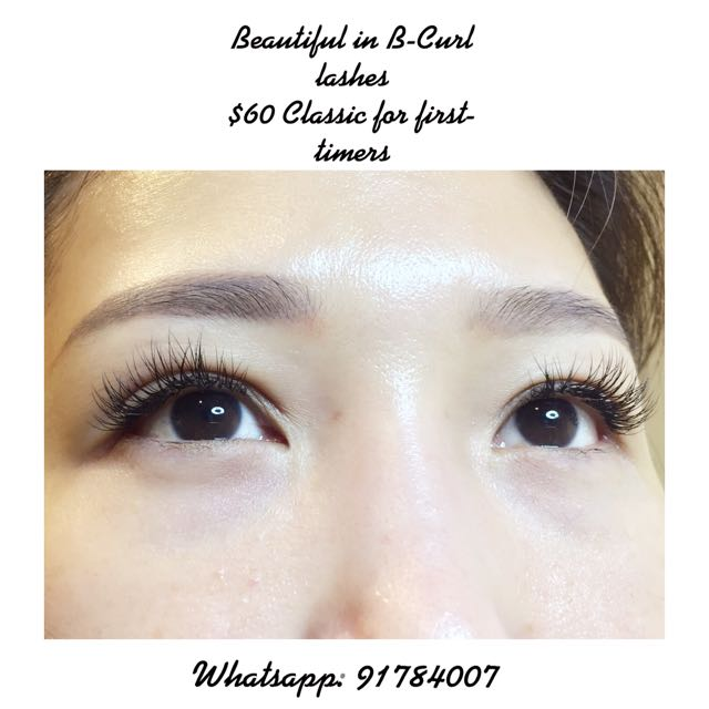 4b8f4f43690 Classic Korean Lash Extensions, Health & Beauty, Makeup on Carousell