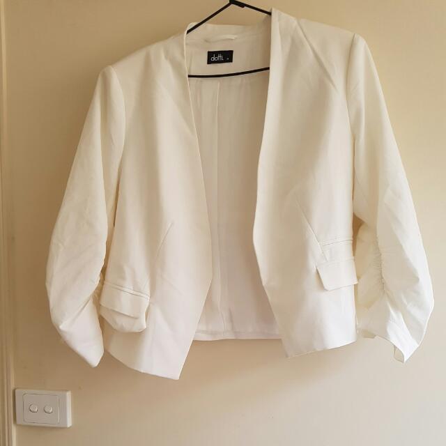 Dotti White Jacket