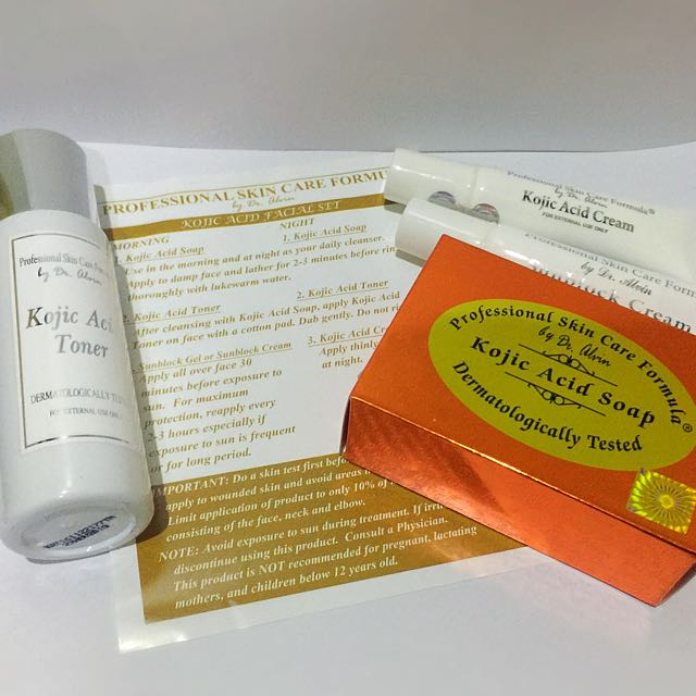 Dr. Alvin's KOJIC ACID SET