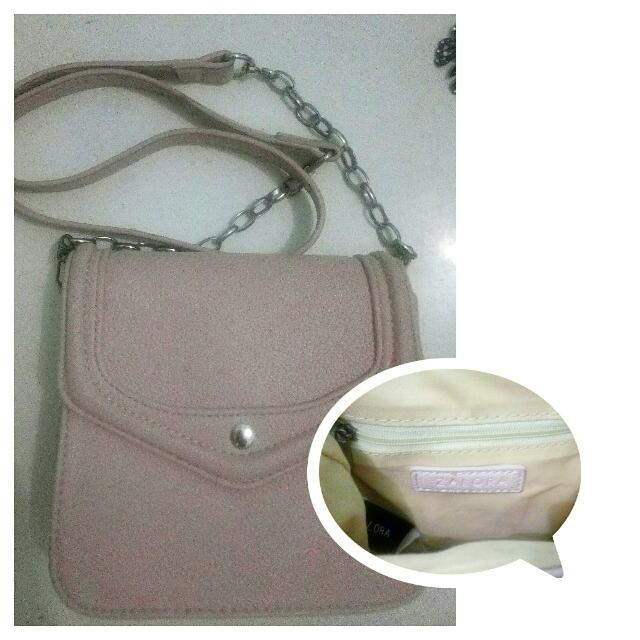 Dusty Pink Mini Sling Bag