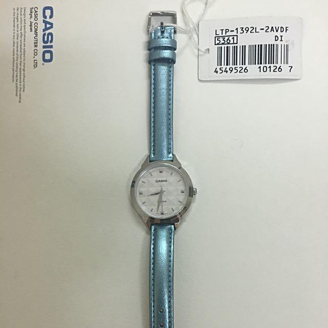 Enticer Ladies Casio watch Blue Price Drop Xmas Best Gift