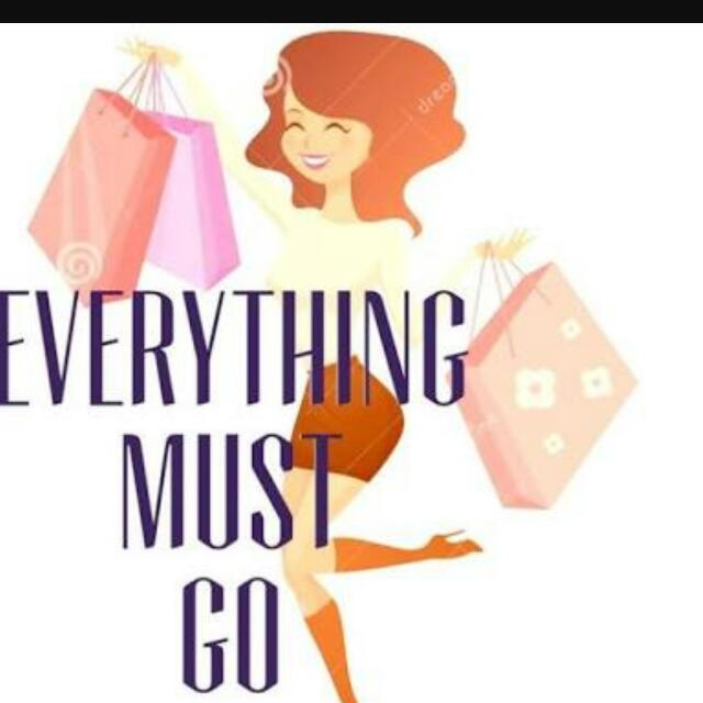 Everything Must Go- No Offer Too Crazy