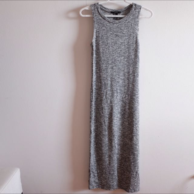 F21 Long Sleeveless Dress