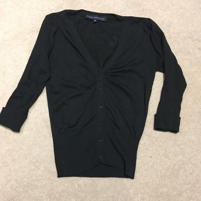 French Connection Sweater Black XS