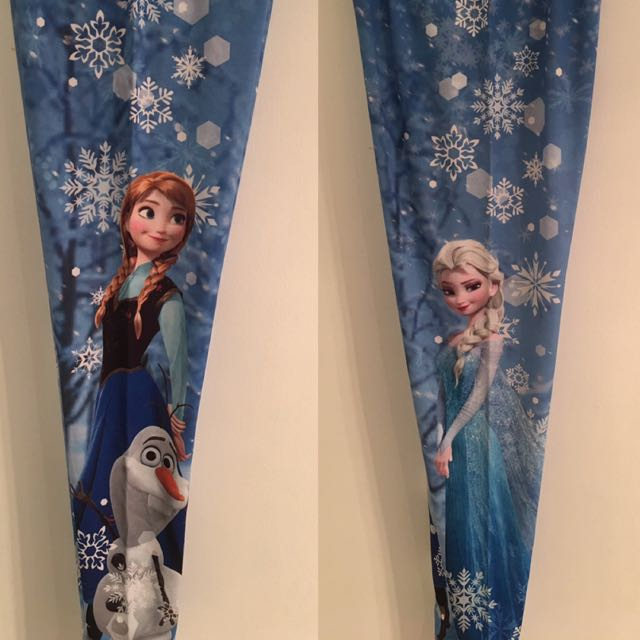 Frozen Leggings From Disneyland California!!
