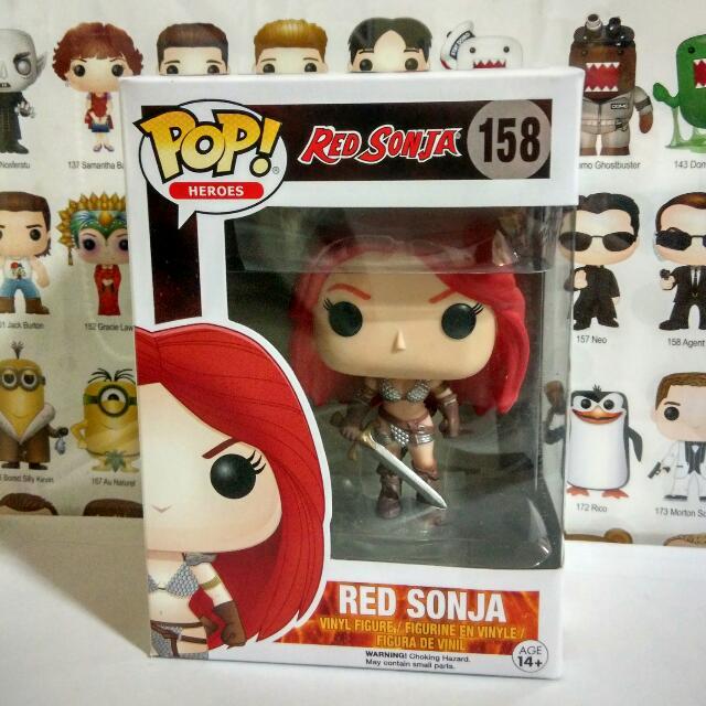Funko Pop Red Sonja Vinyl Figure Collectible Toy Gift